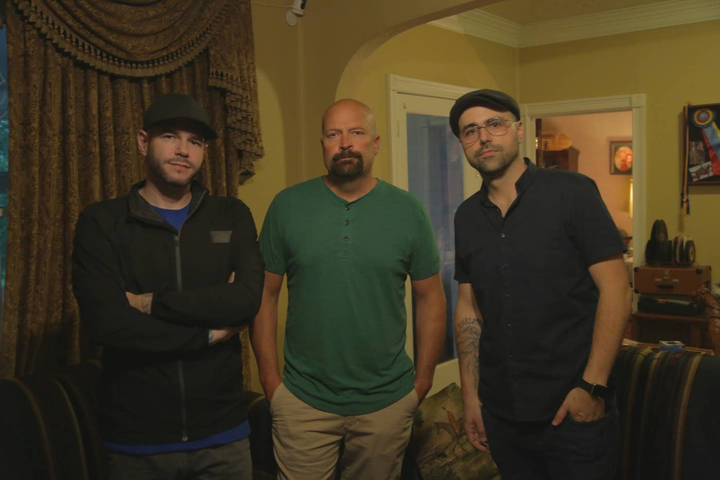 The three ghost hunters of Ghost Nation