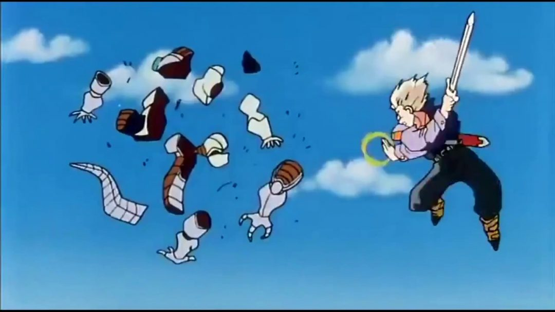Trunks Defeats Frieza Dragon Ball Z Moments