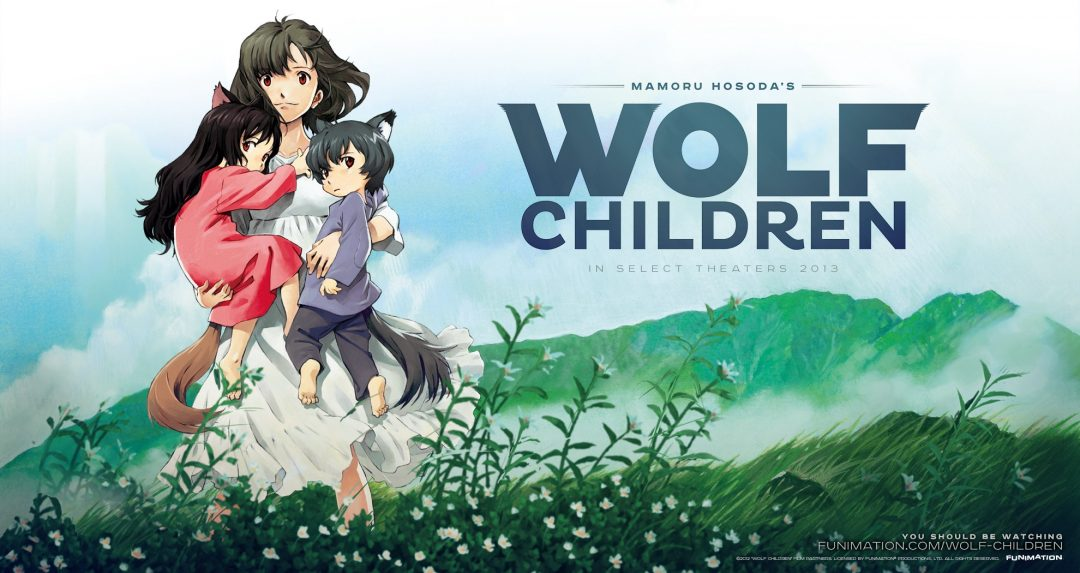 Coming of Age Anime Movie Wolf Children