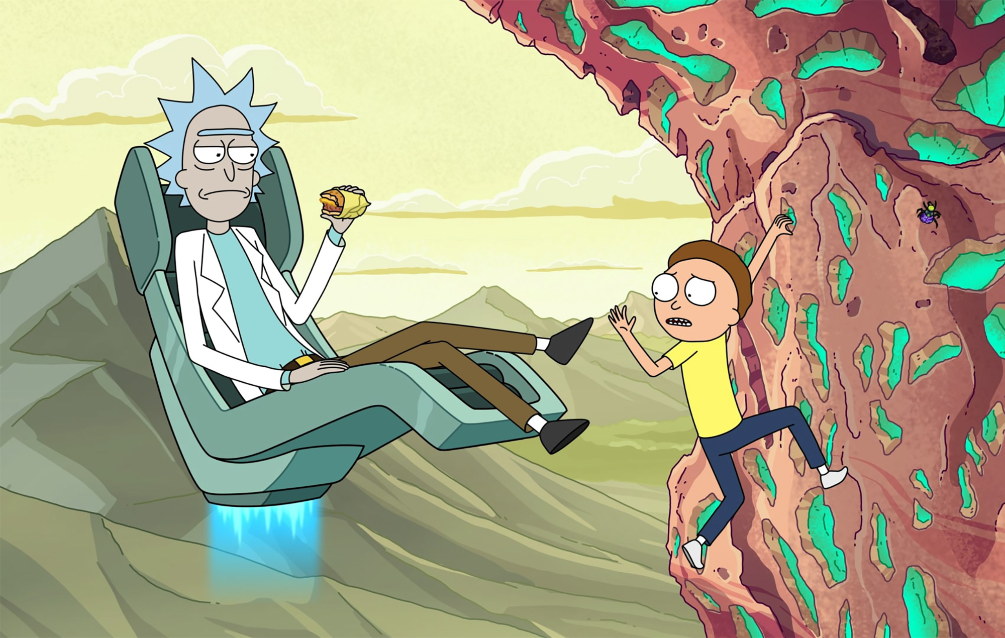 Best Cartoon & Anime Shows Like Rick and Morty To Watch