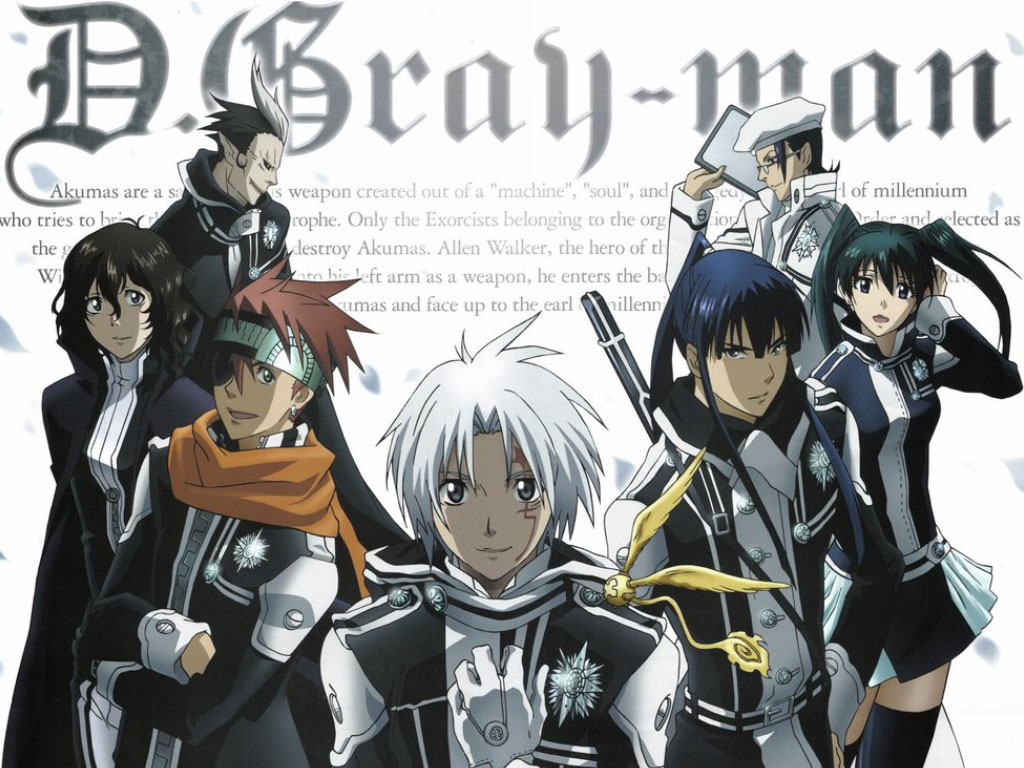 D gray man - Anime Similar to Fairy Tail
