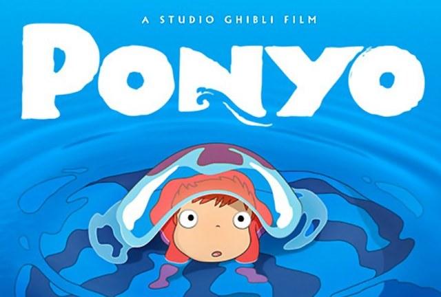 Ponyo is a Studio Ghibli film