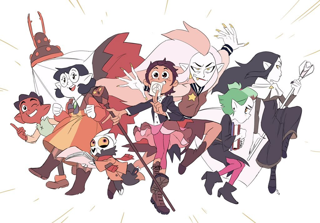 All characters of The Owl House