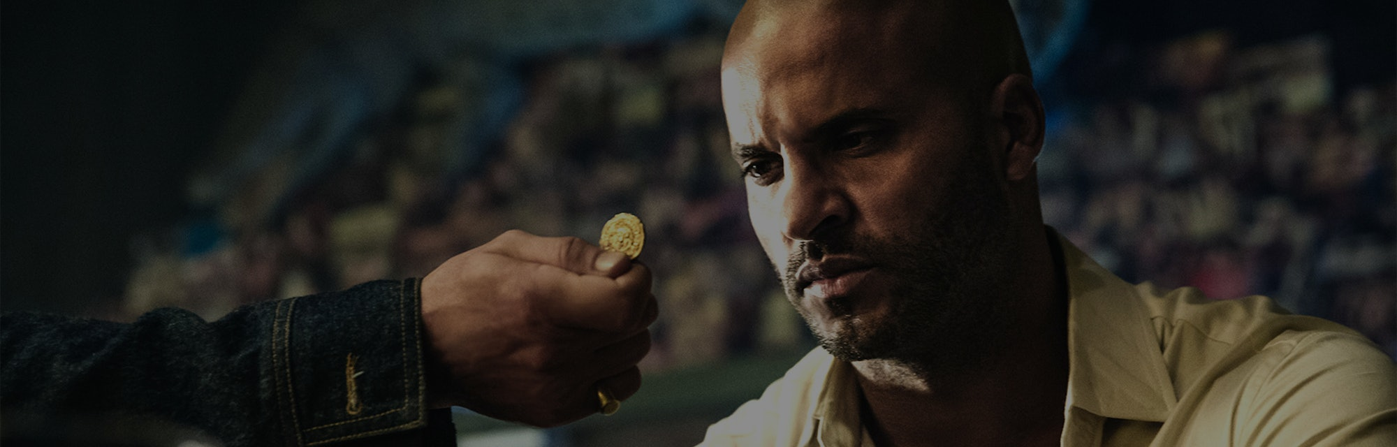 American Gods Star Ricky Whittle as Shadow Moon