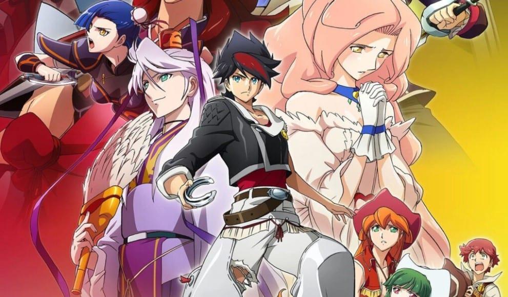 Back Arrow Anime