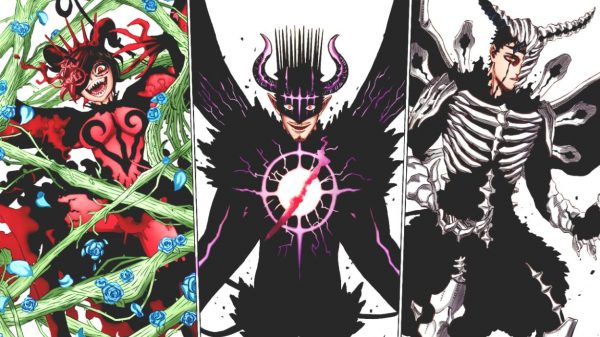 Dark Triad Members from Black Clover: Explained