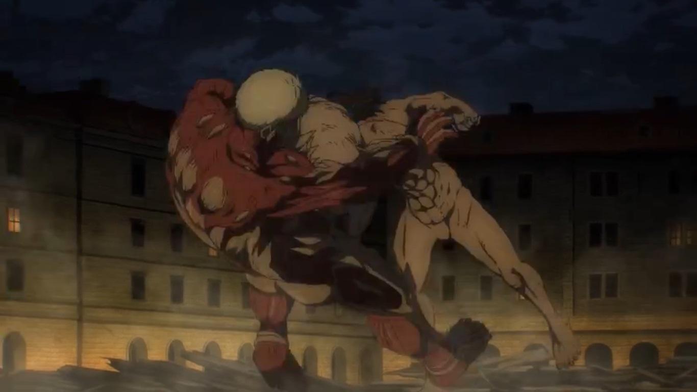 Attack on Titan الموسم الرابع الحلقة 8