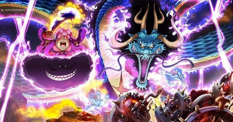 Kaidou and Big Mom vs Wors Generation