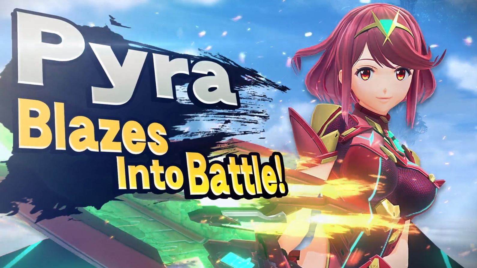 Pyra and Mythra join Super Smash Bros. Ultimate