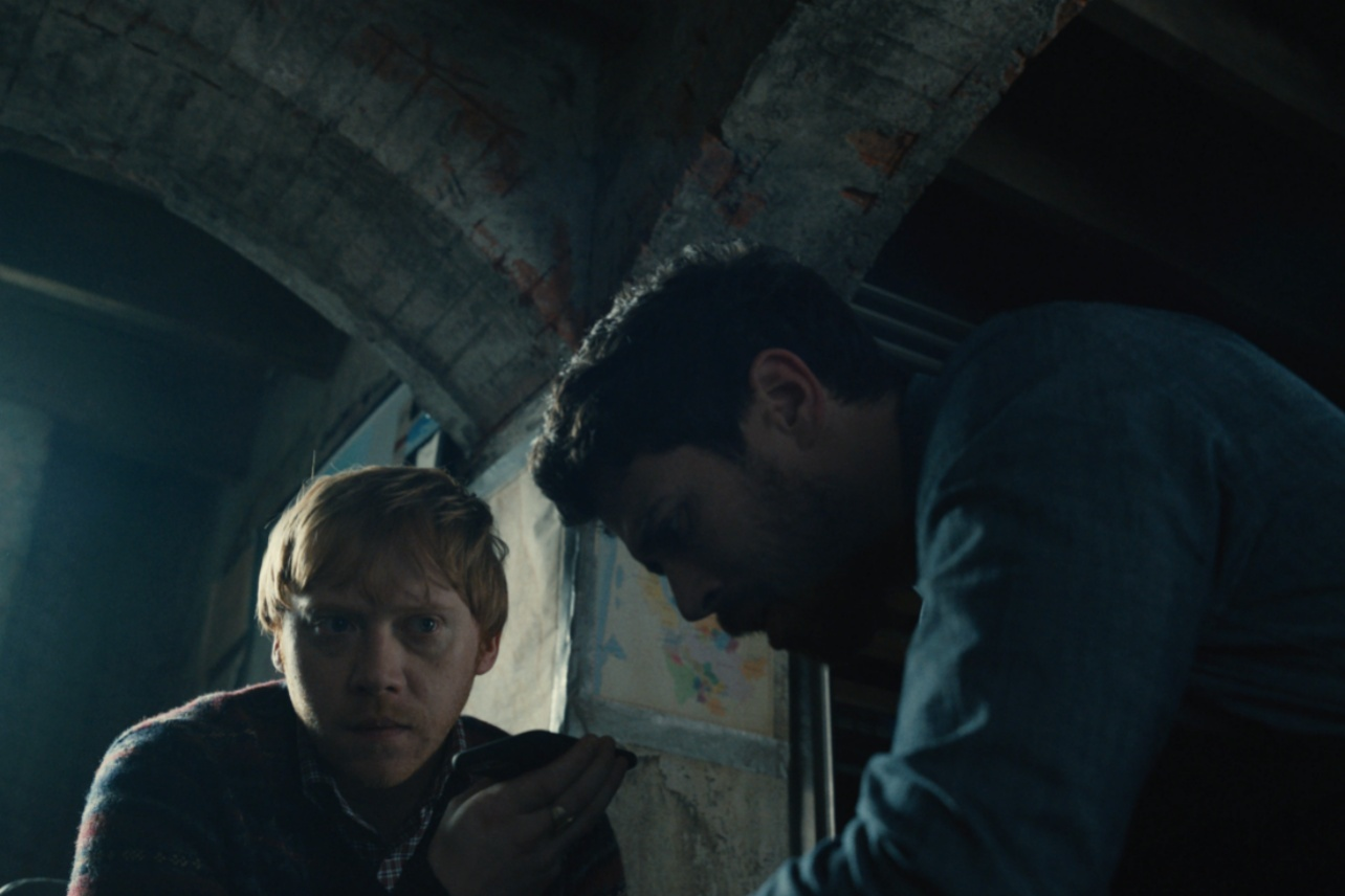 Rupert Grint's spooky comeback in Servant