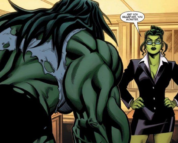 She Hulk History