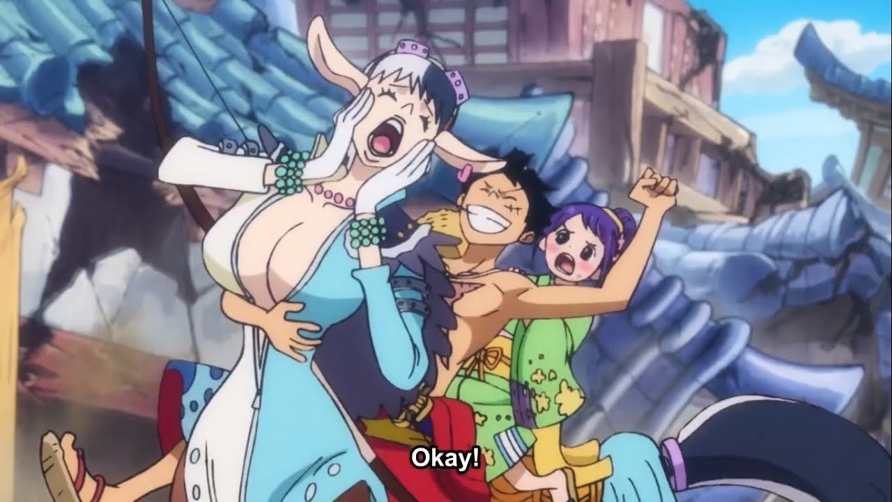 Speed, Tama and Luffy