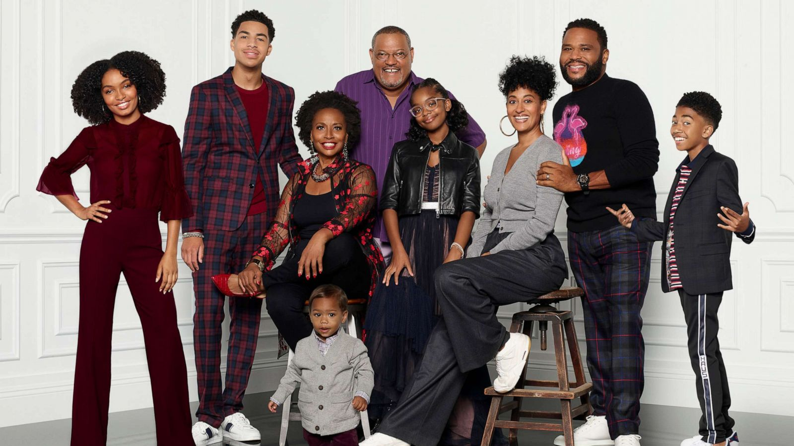 The all-black Blackish cast