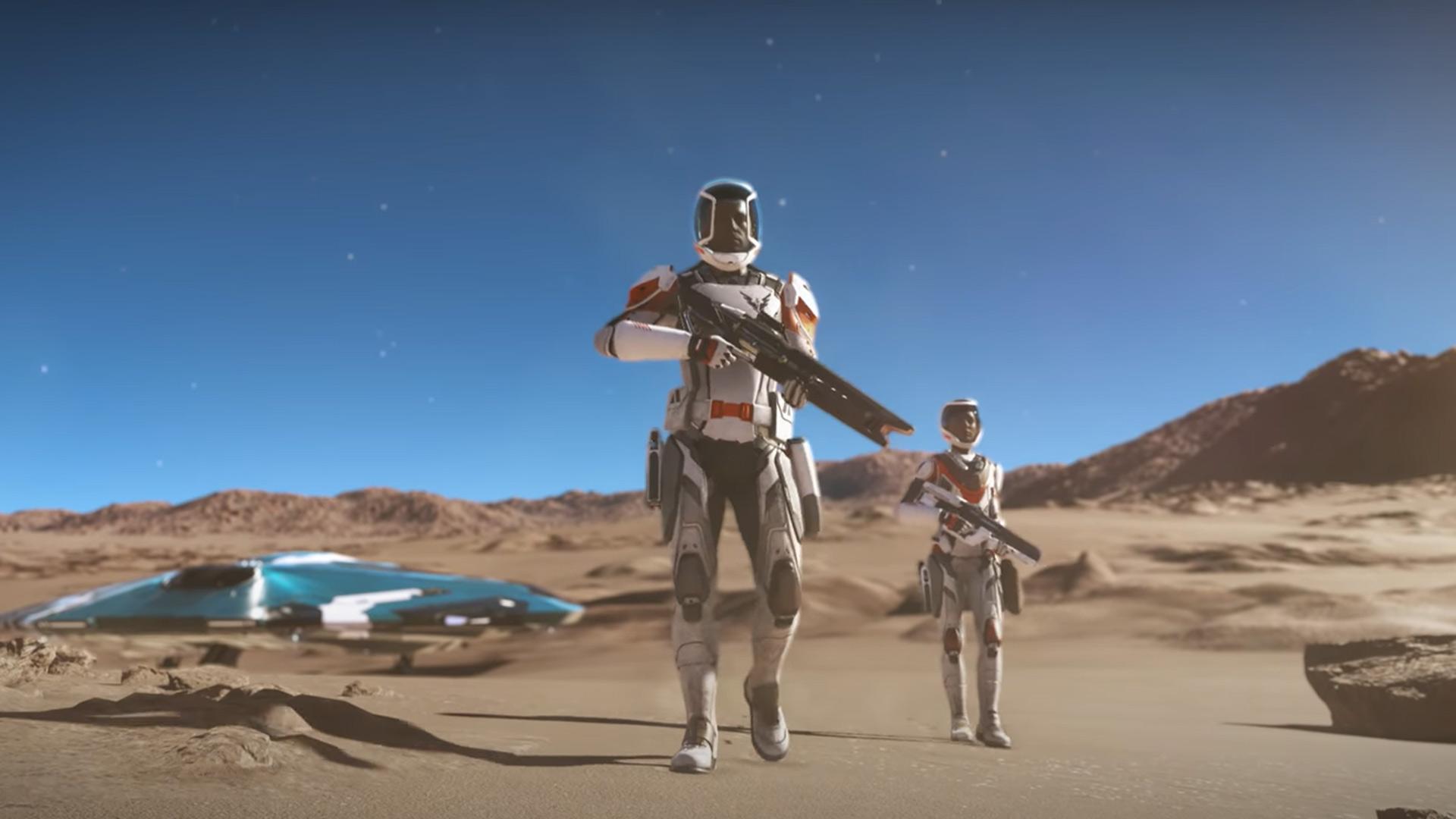The Elite Dangerous Odyssey update has been delayed.