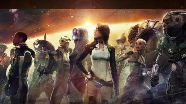 All the companions you can recruit in Mass Effect 2.