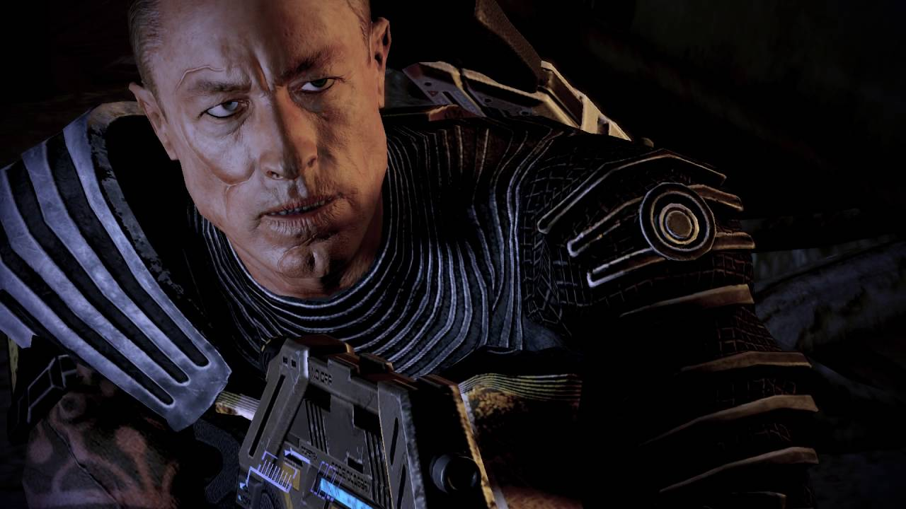 Mass Effect 2's Zaeed does an impressive amount of damage.