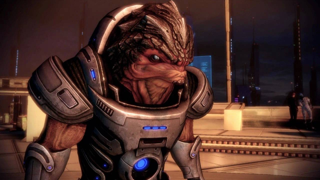Grunt, in ME2, is a formidable squadmate to keep around.