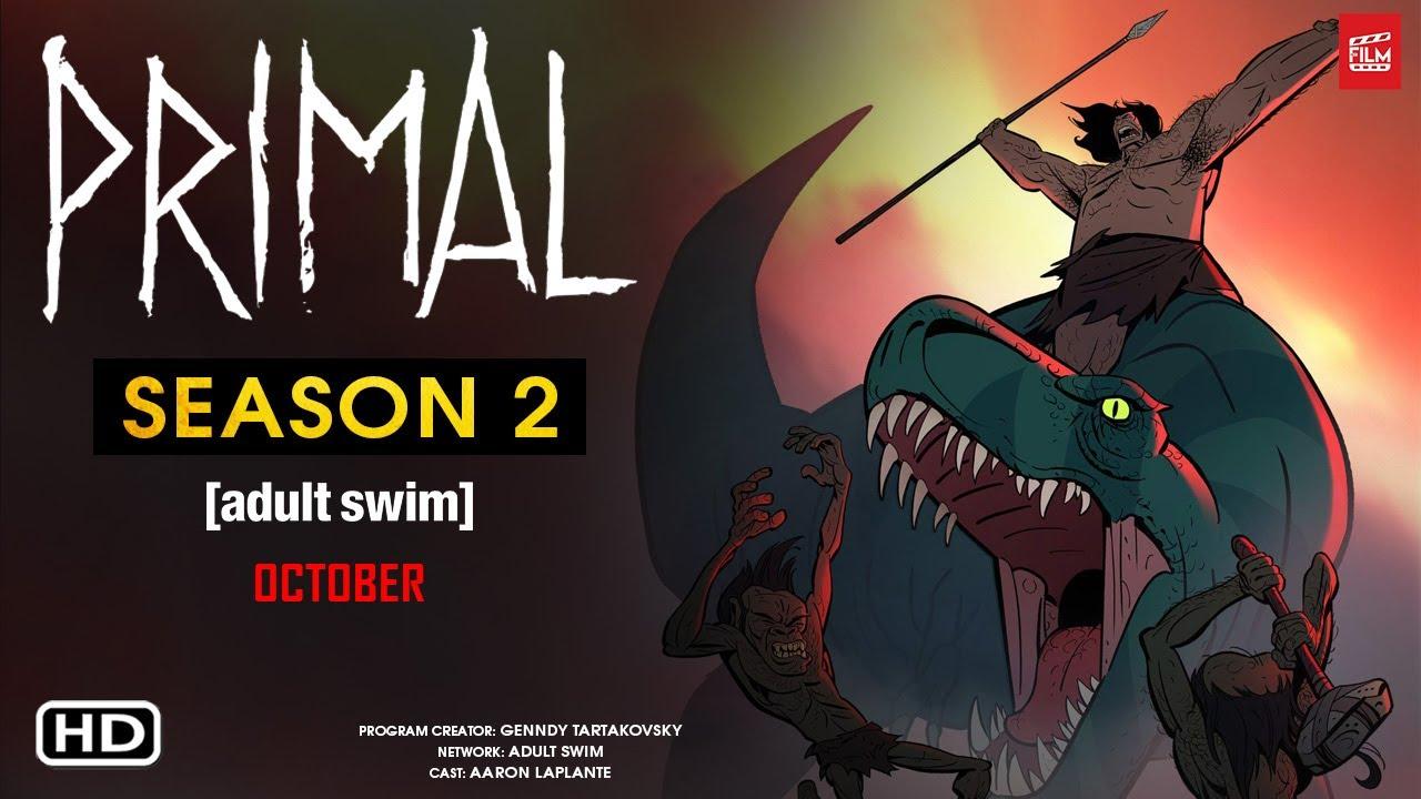 Preview: Primal Season 2 By Adult Swim
