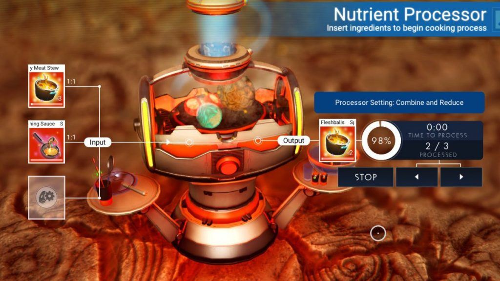 Make a wide variety of dishes with this device in No Man's Sky.