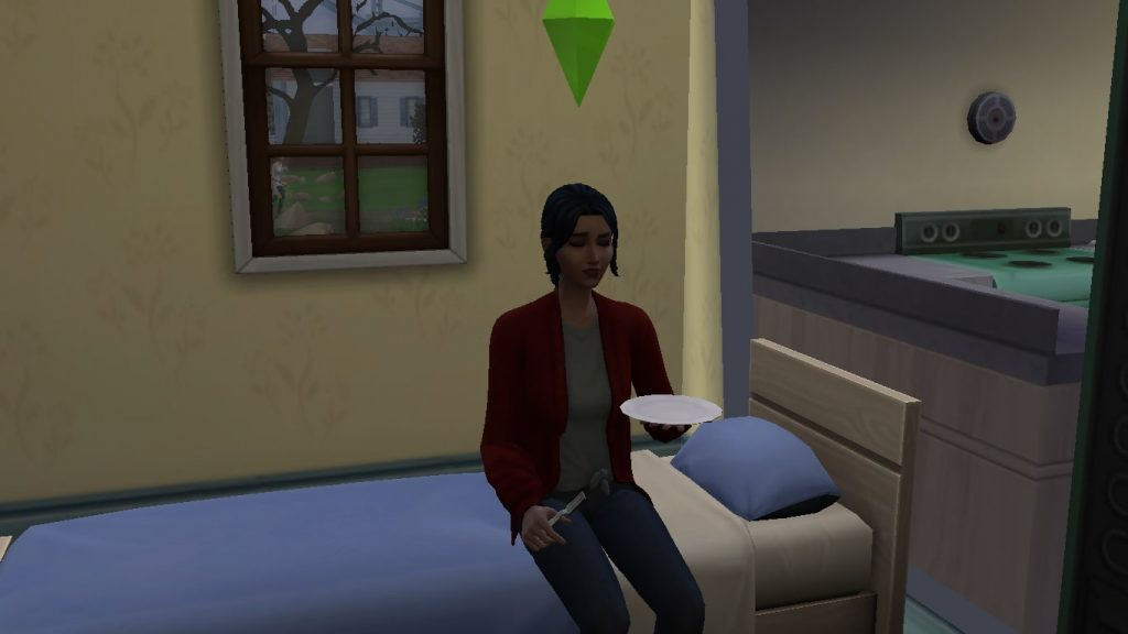 Sims have a secret preference or dislike for fruitcake.