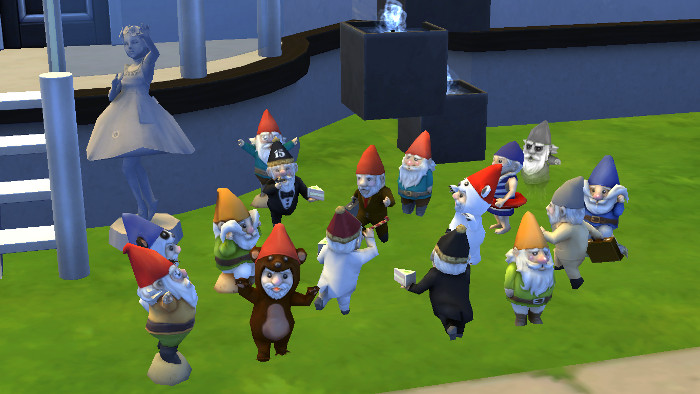 The Sims 4 Seasons Hidden Gameplay includes gnomes.