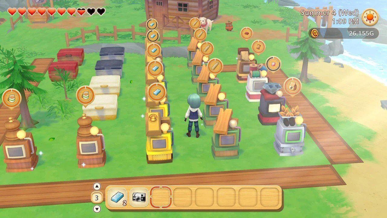 Nintendo's farming life game Story of Seasons Pioneers of Olive Town