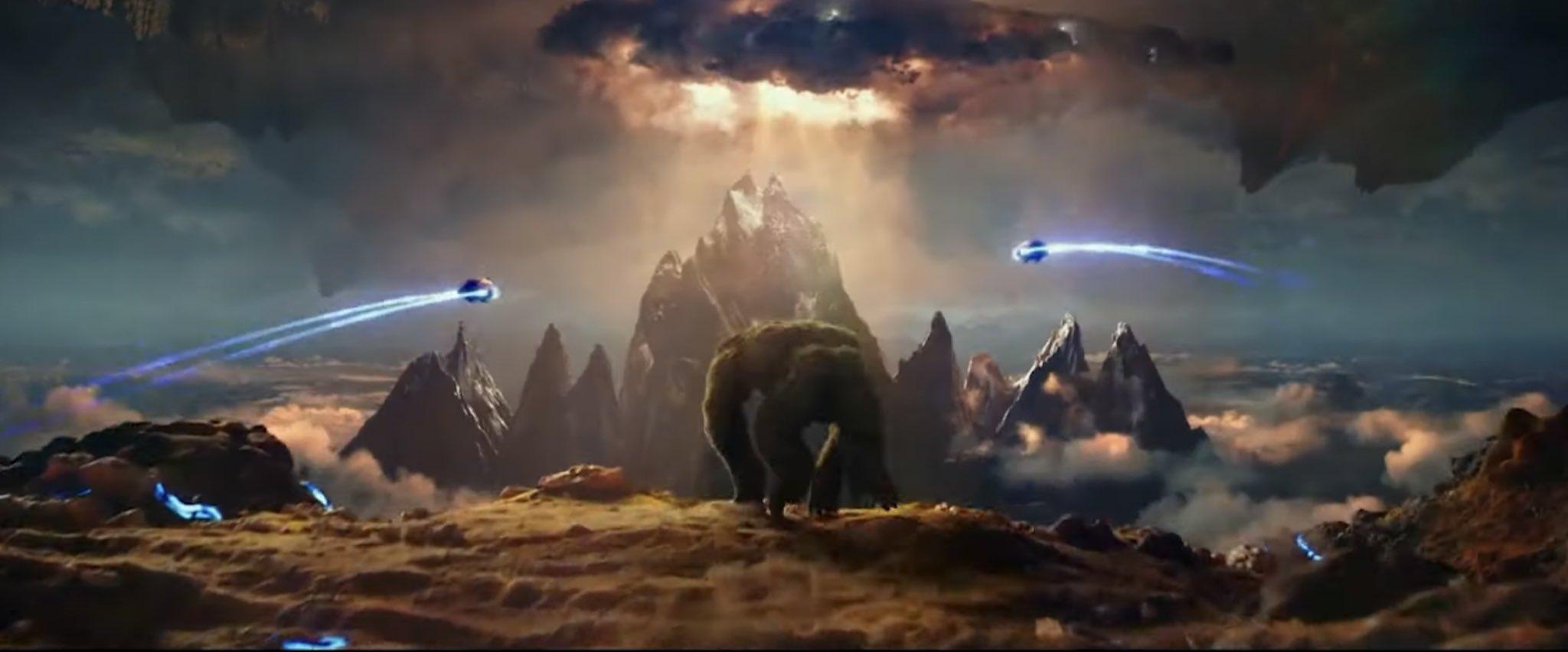 Hollow Earth Godzilla Vs Kong