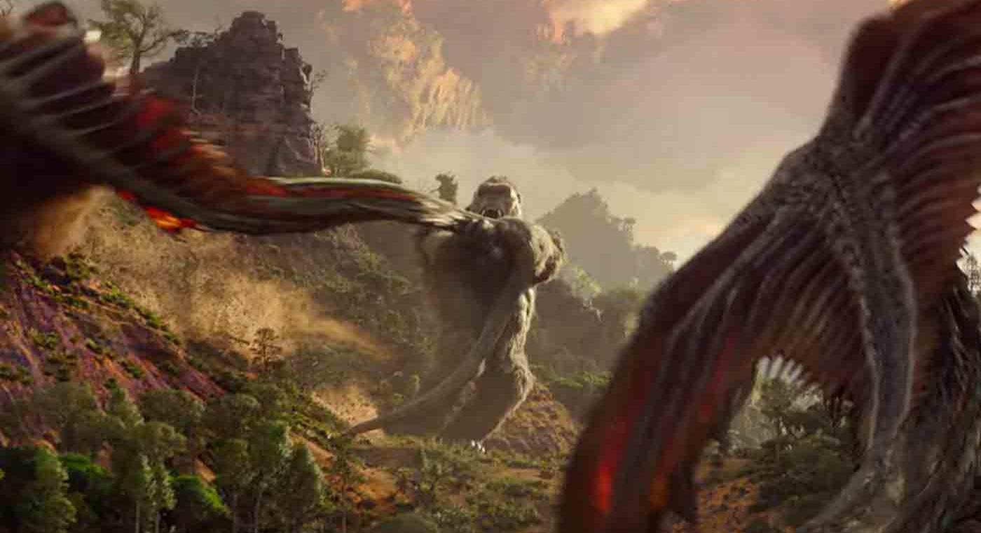 Kong in hollow earth Godzilla Vs Kong