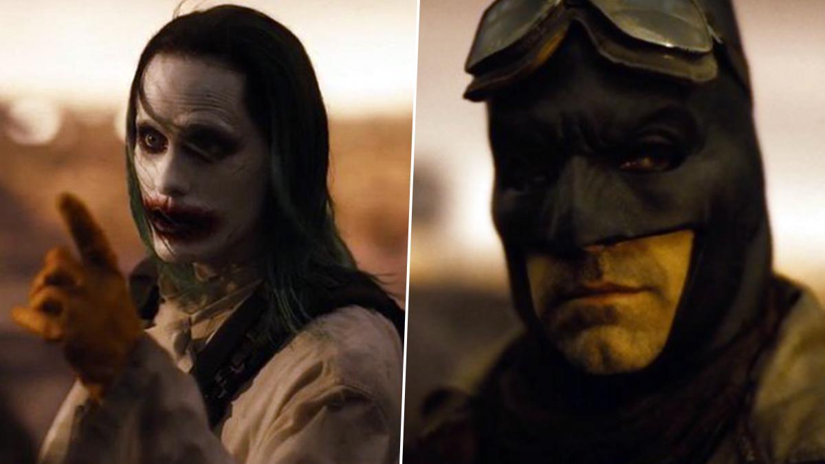 Joker and Batman In Justice League