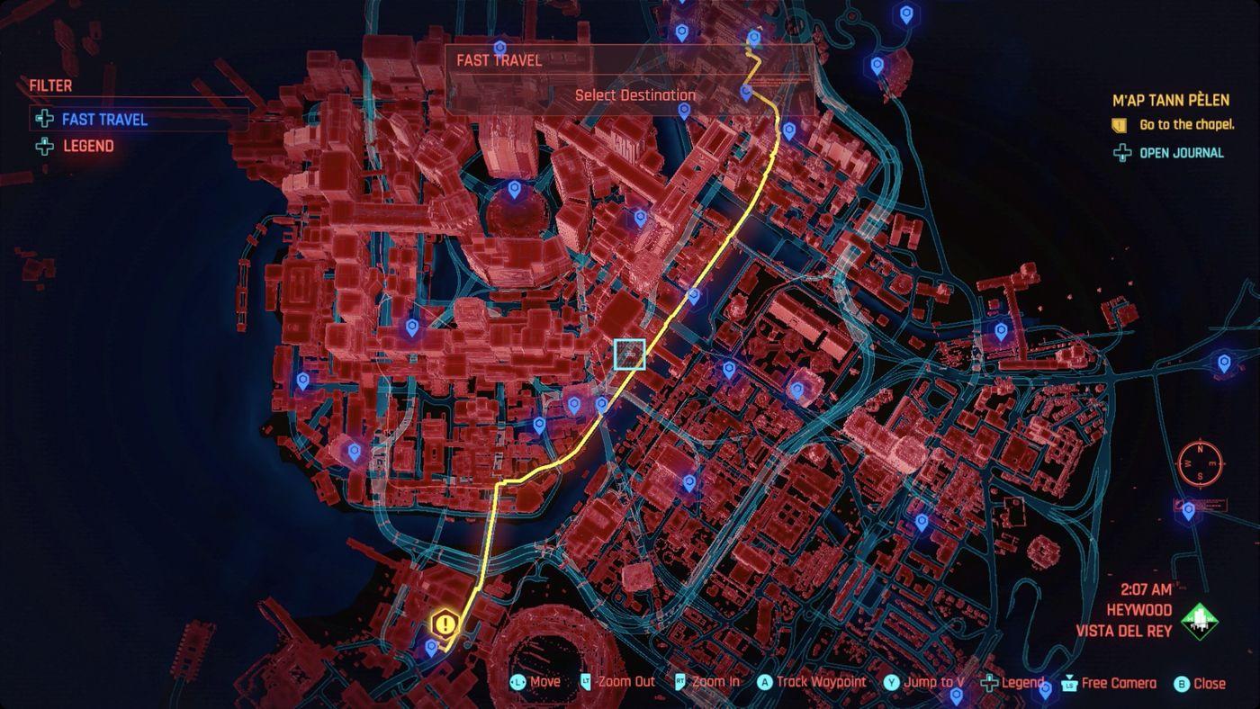 Cyberpunk Waypoints