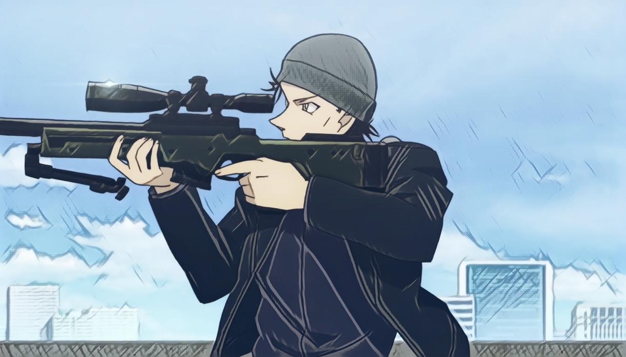 Detective Conan: Scarlet Bullet.