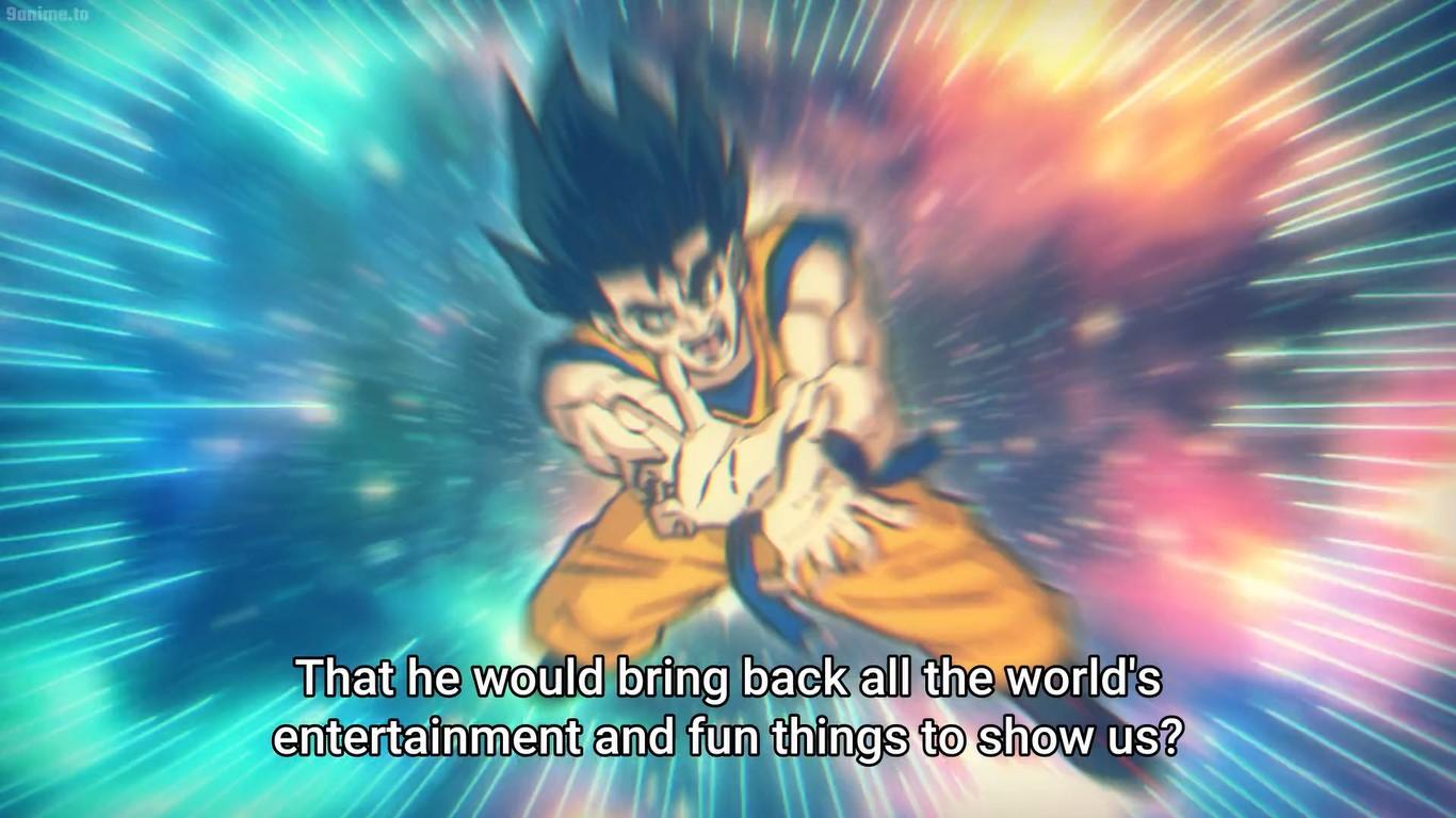Dr. Stone Goku