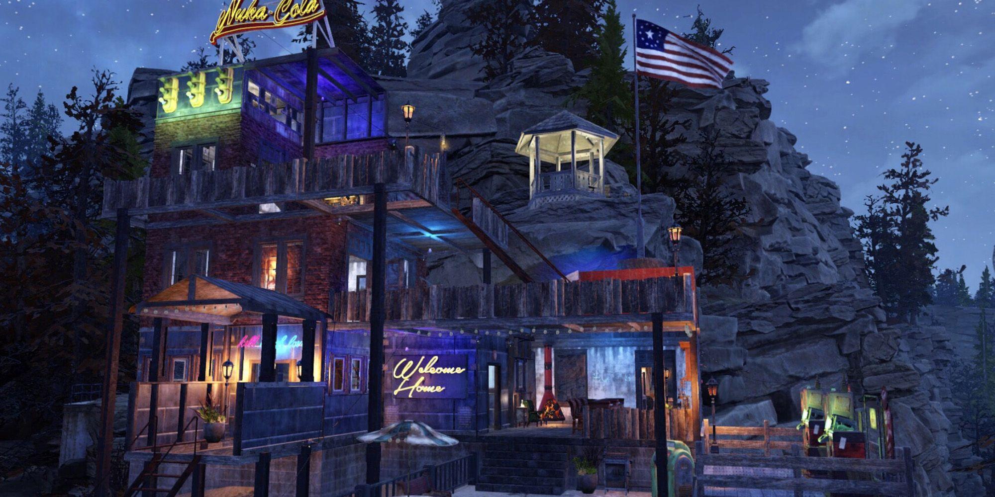 Fallout 76 CAMP