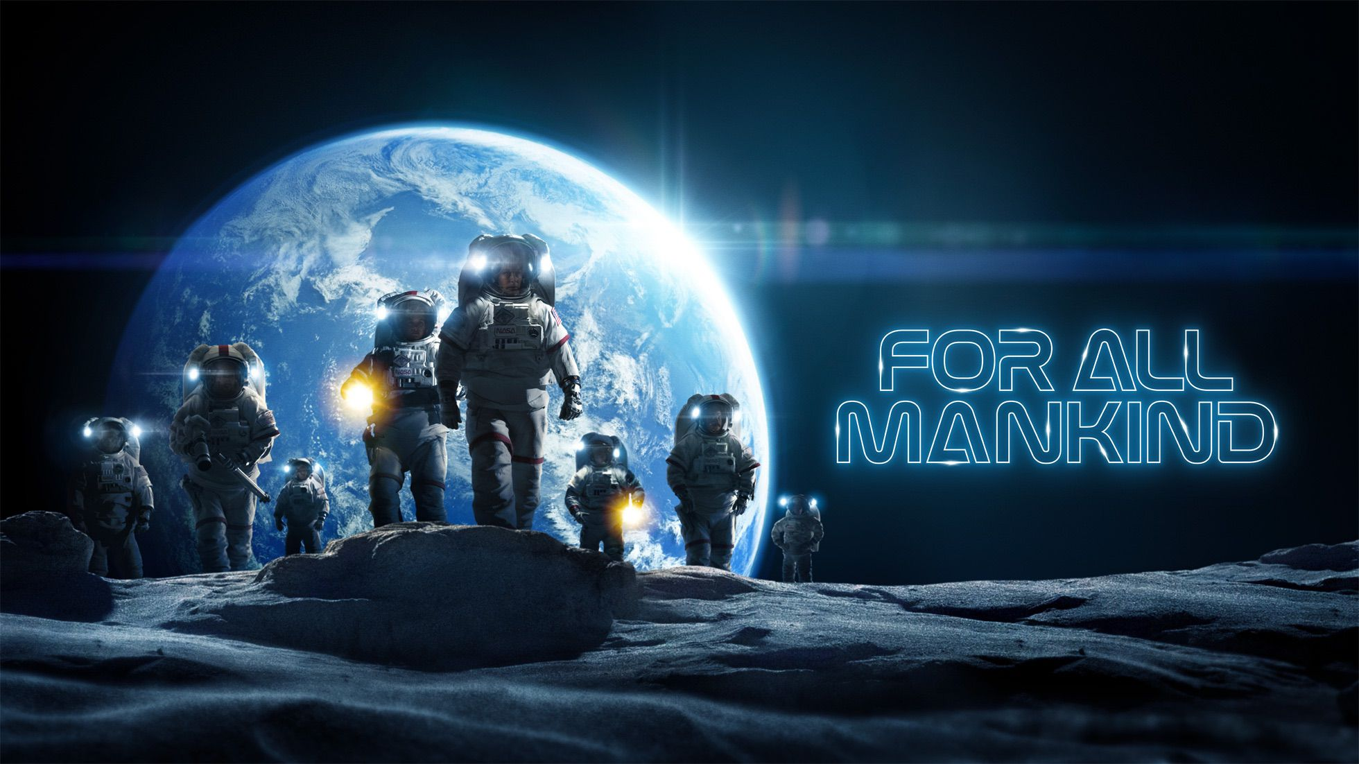 Science fiction drama For All Mankind Season 2 Episode 6