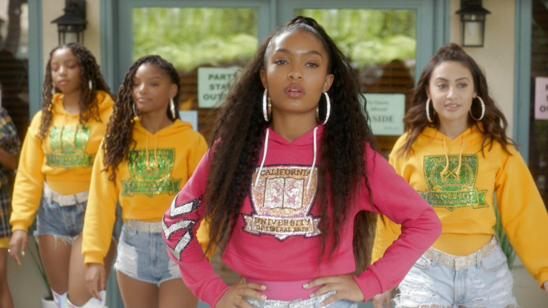 Grown-ish- Freeform's hottest comedy-drama today