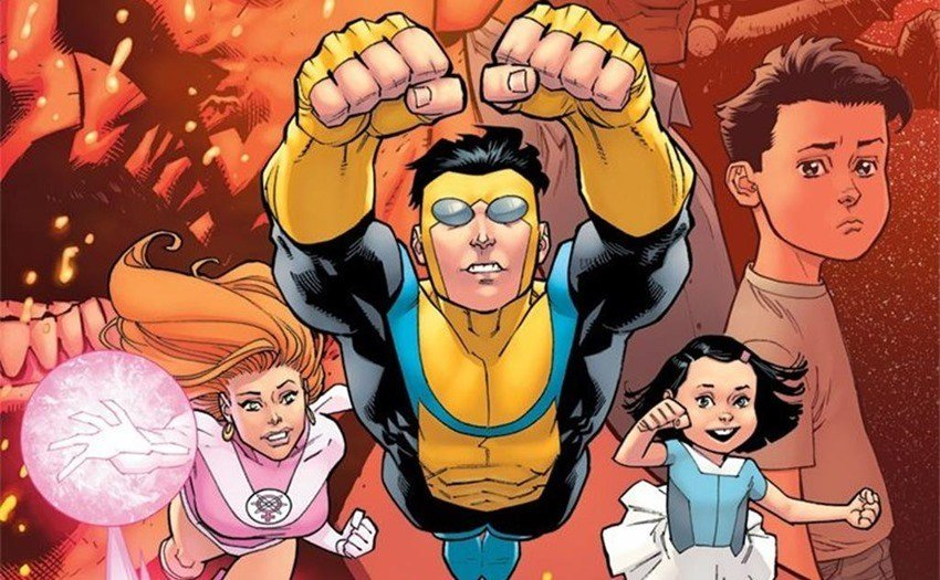 Atom Eve, Invincible, Marky and Terra