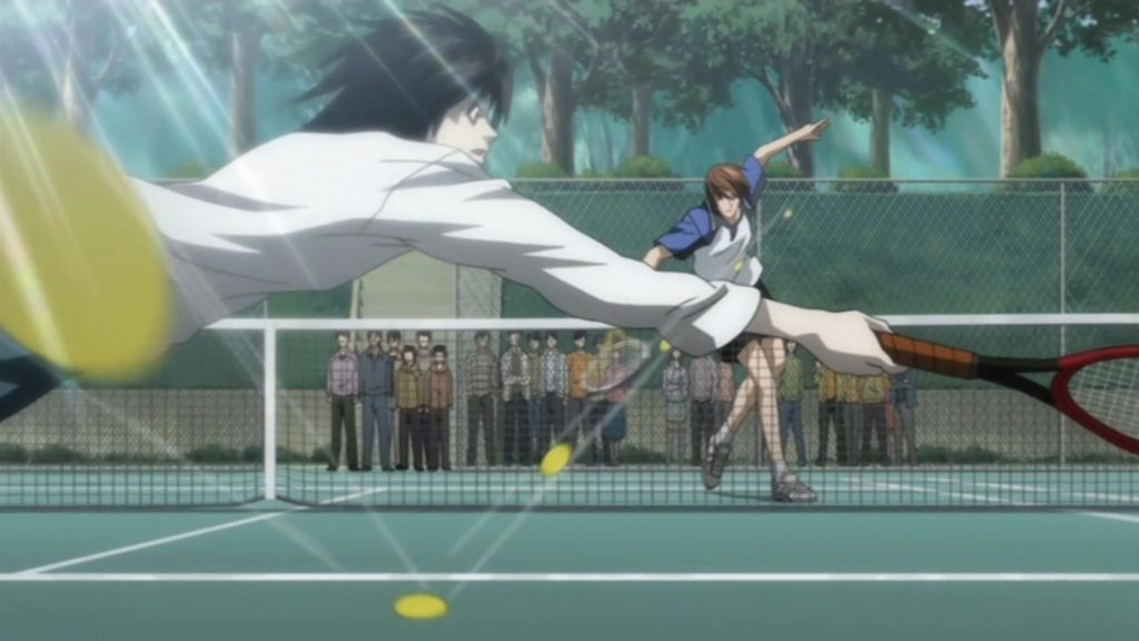 Tennis L and Light