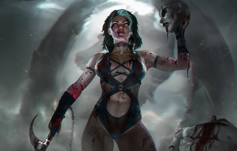 Sareena in Mortal Kombat
