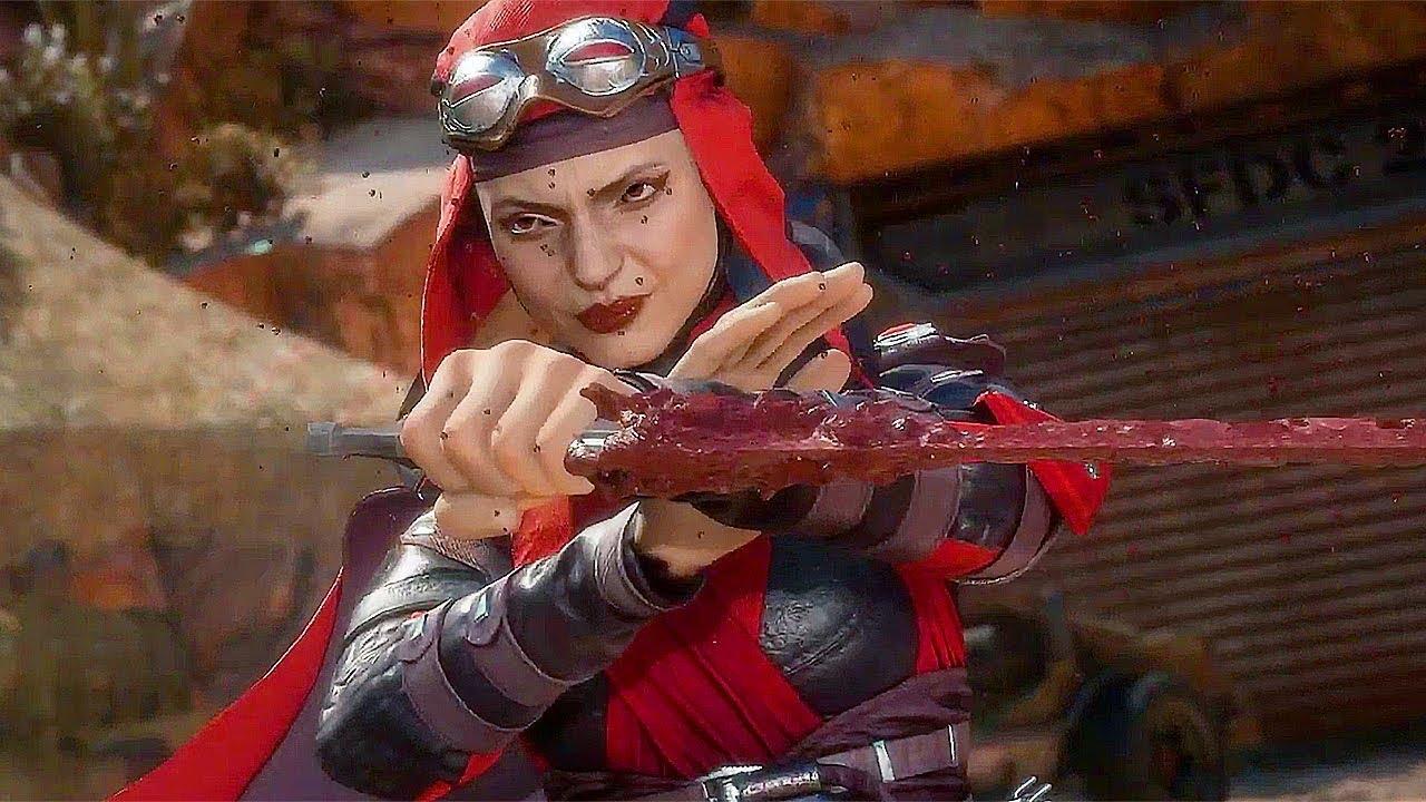 Skarlet in Mortal Kombat