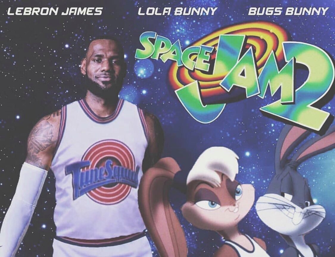 Space Jam 2 starring LeBron James will be released soon