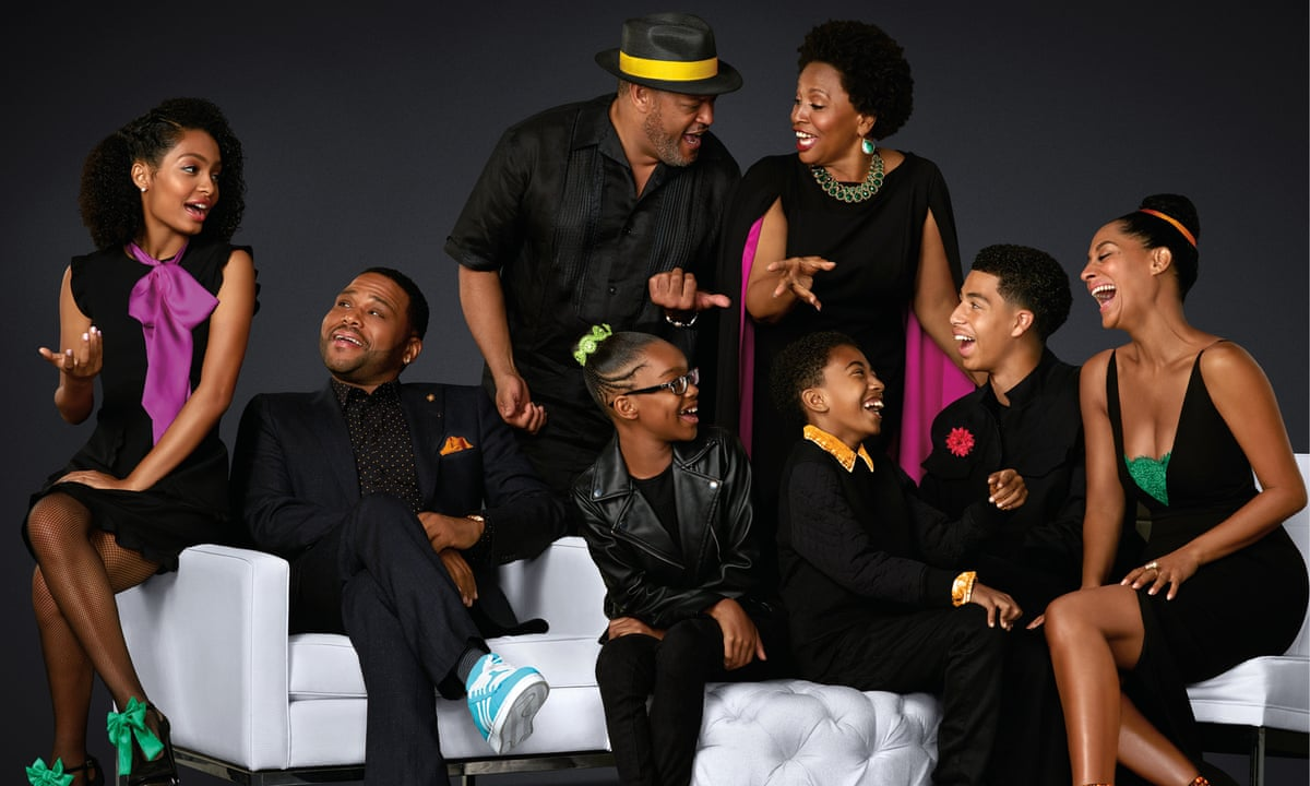 Cast of the ABC comedy TV series: Black-ish
