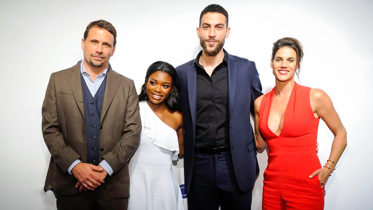The cast of CBS's crime drama- FBI