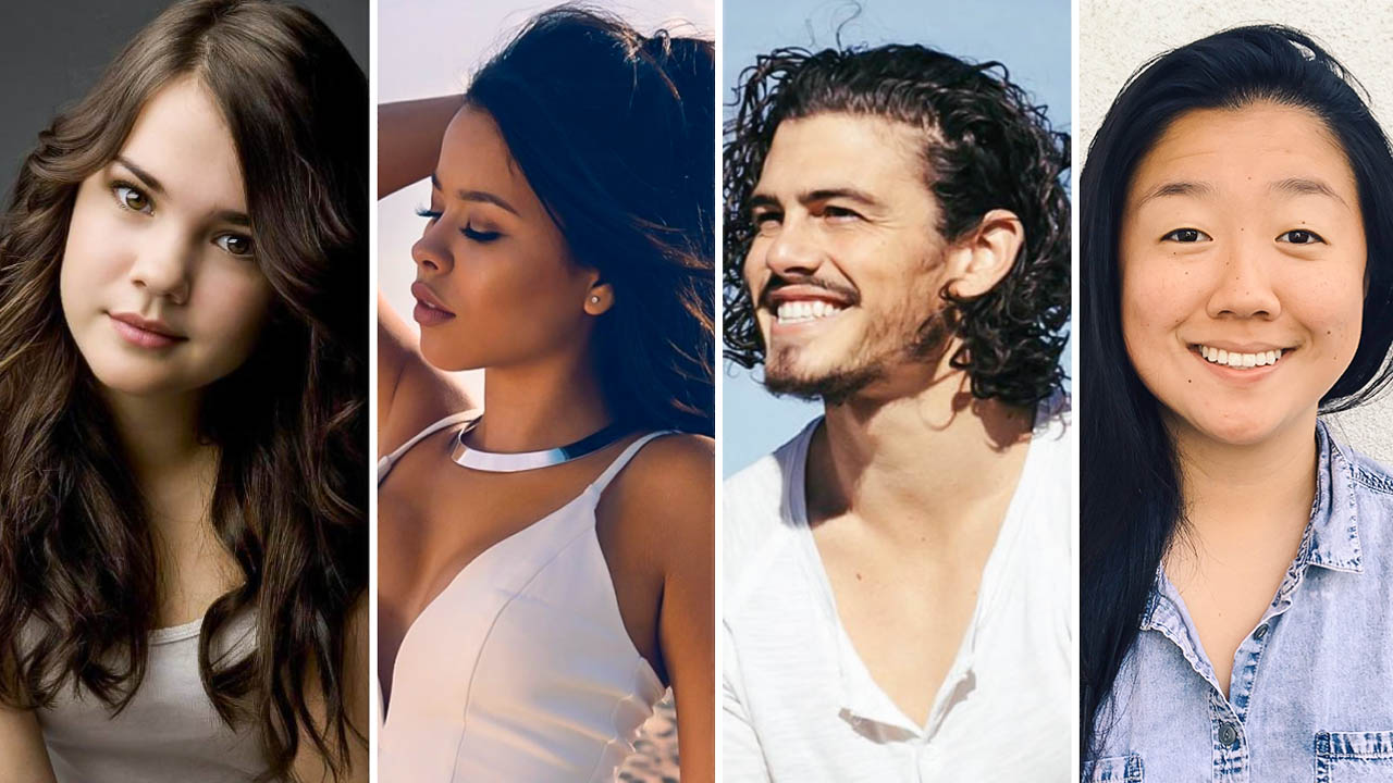 The cast of Good Trouble
