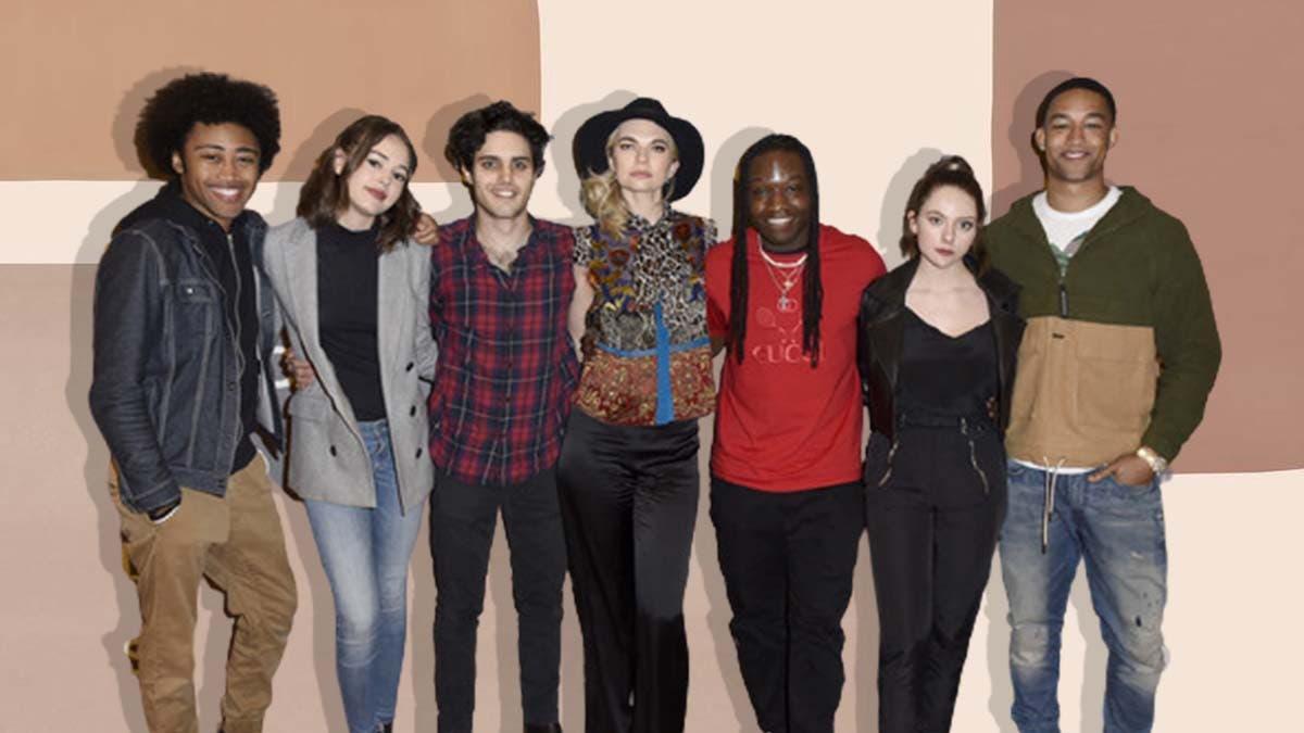 The cast of Legacies
