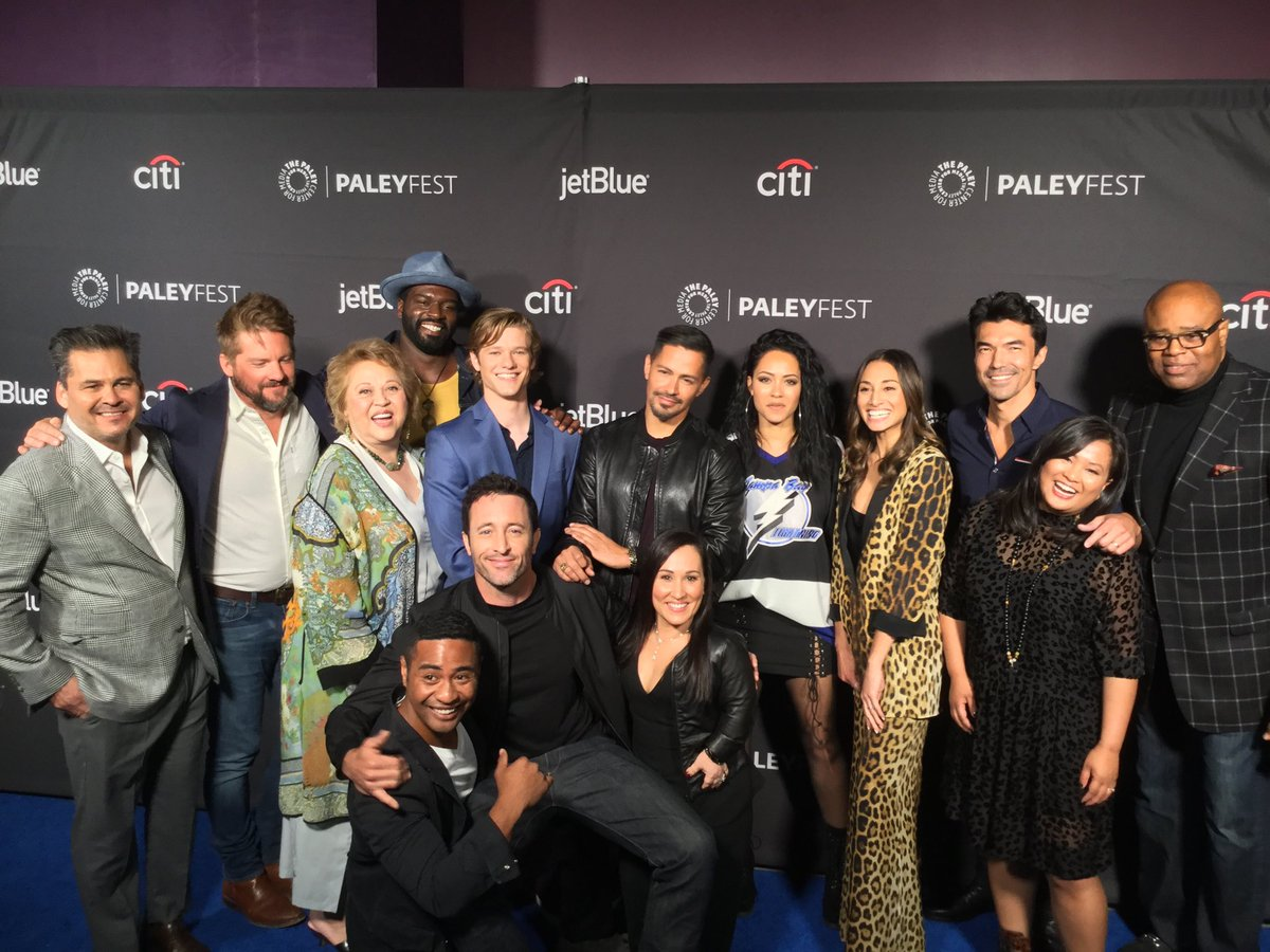 The cast of MacGyver