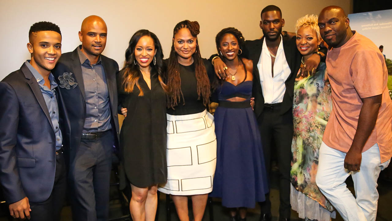 The cast of Queen Sugar