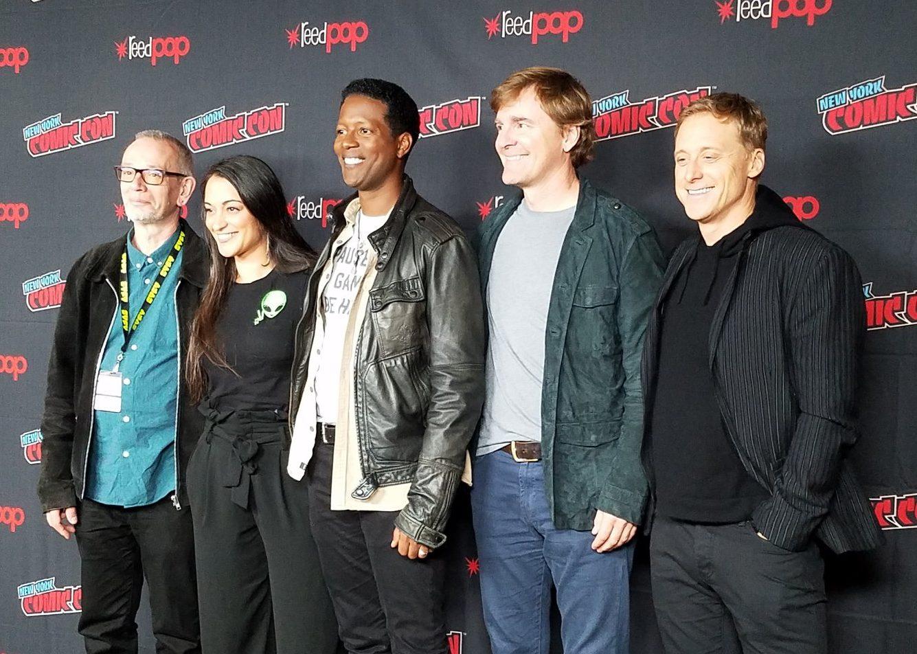 The cast of Resident Alien