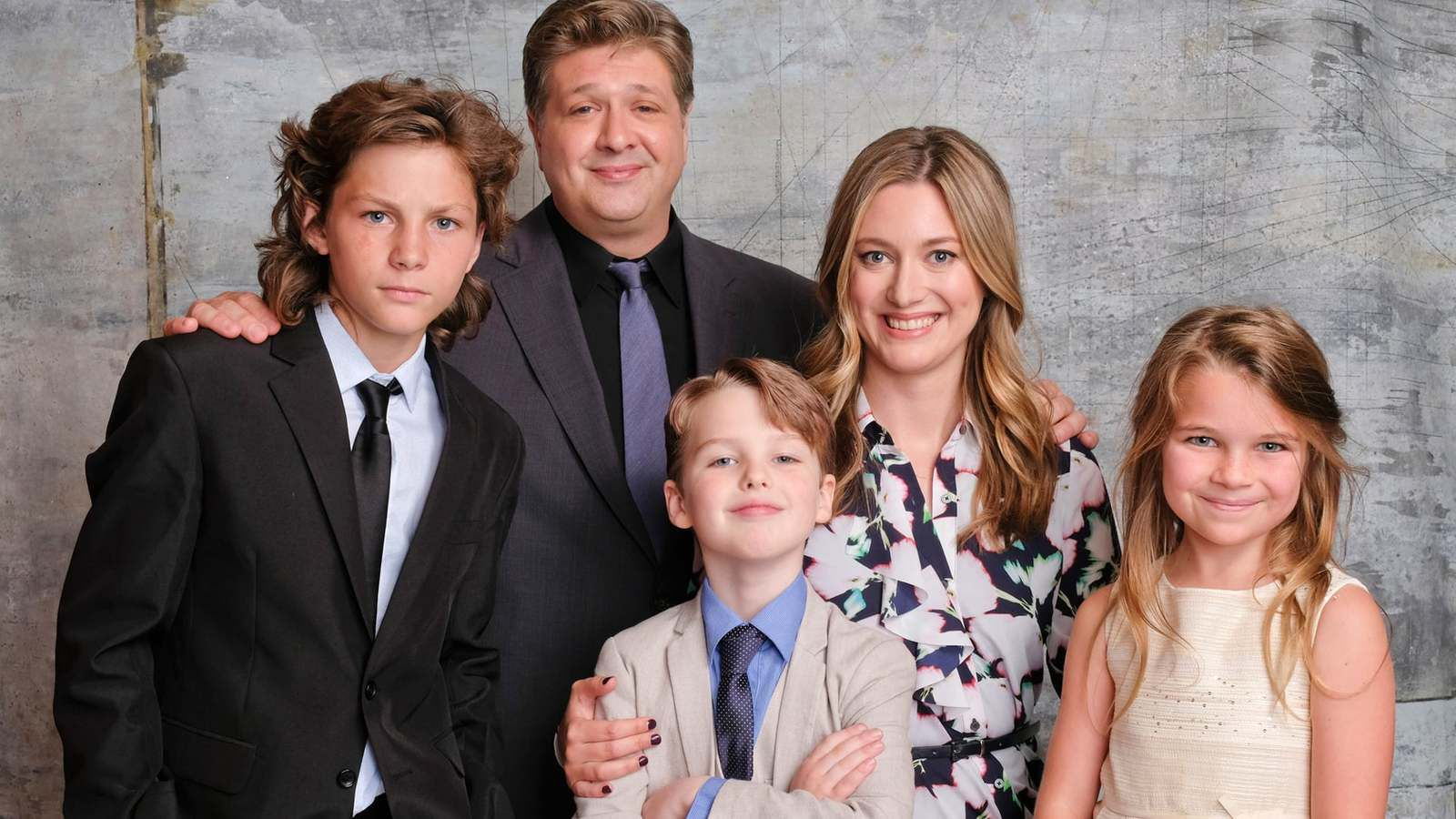 The cast of Young Sheldon