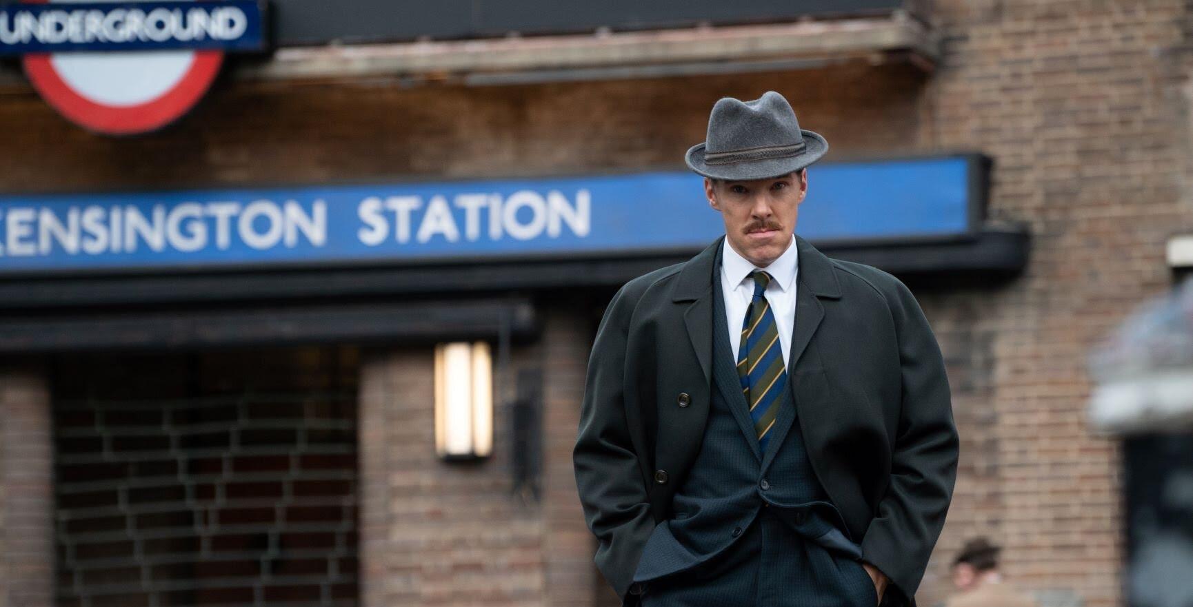 Benedict Cumberbatch in The Courier.