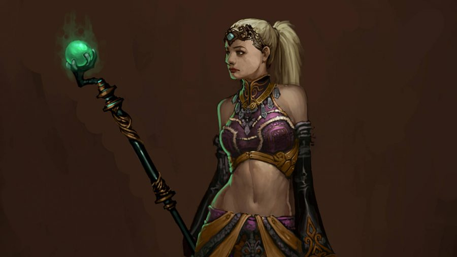 Diablo 3 Enchantress